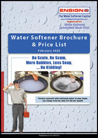 water softener brochure