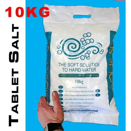 10x10KG Tablet Salt Delivered