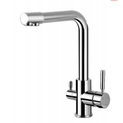 Apollo 3-Way Sink Tap type-S in chrome